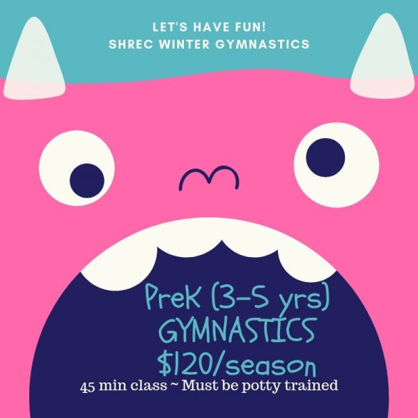 PreK (3-5 yrs) Gymnastics